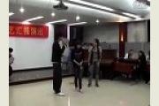 北京大成艺考教育中心文艺汇报演出之中场游戏