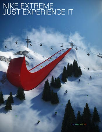 Nike 标志道具