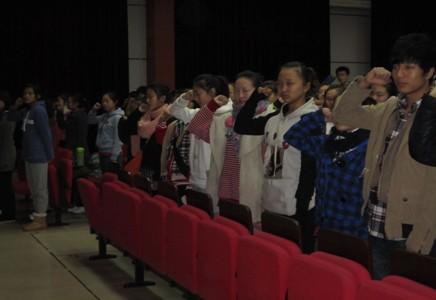 北京艺术高考冲刺班100天隆重宣誓