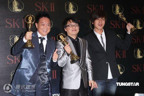 唐川(左)获迷你剧集 电视电影男主角奖