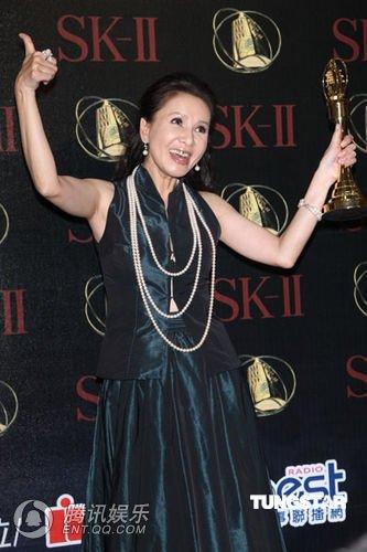 林美照获迷你剧集 电视电影女主角奖