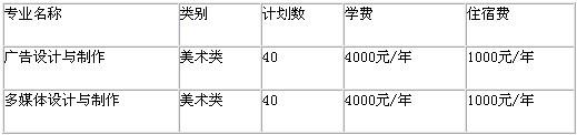 眉山职业技术学院2016年艺术类招生简章