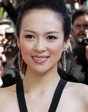 中国演员章子怡