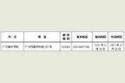 广州美术学院2017年普通本科招生专业考试要求